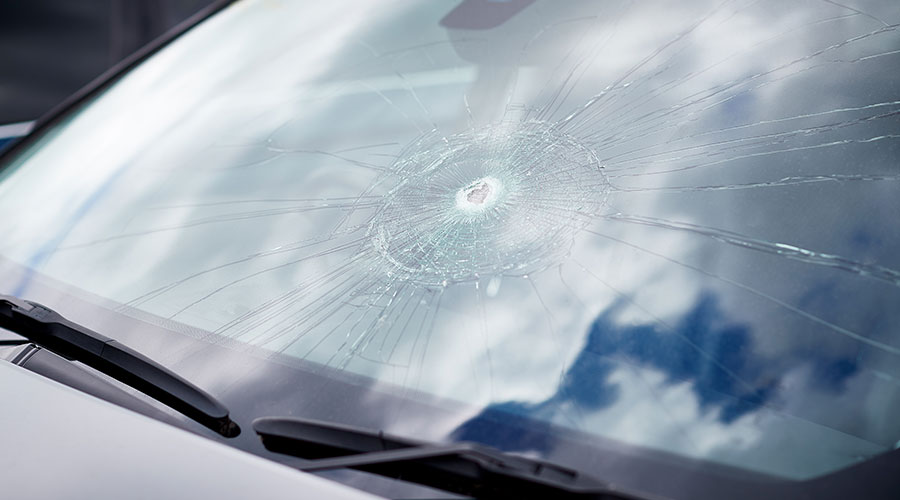 Auto glass replacement at Hewlett Collision Center in Georgetown, TX