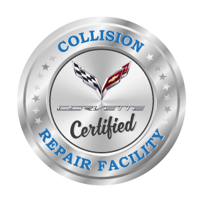 Hewlett Collision Center Is A Corvette Certified Repair Facility